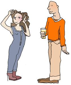 Flirten frauen miteinander